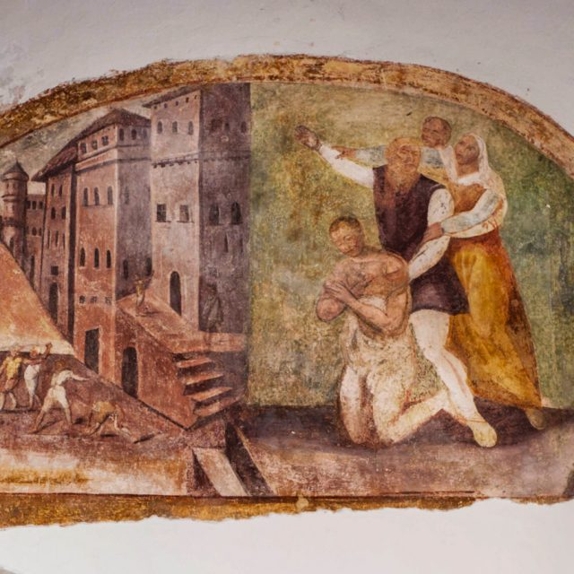 Affresco S'Antonio Moa